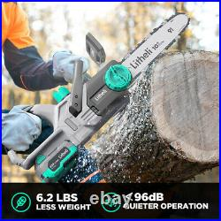 LiTHELi 20V Cordless 12 Chainsaw with 4.0AH Battery&Charger Included Farm Yard