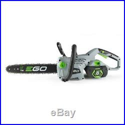 Lith Ion 56 Volt Cordless Chainsaw 2.0Ah Battery Plus Charger Included Ego 14 In
