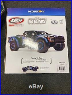 Losi Mint 400 Ford Raptor Baja Rey (LOS03038) Includes Charger And Lipo Battery
