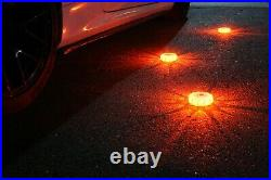 MARCALA 3 Pack LED Safety Flares with Batteries Installed 4 Bonuses Included
