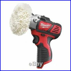 MILWAUKEE 2438-20 M12 Cordless Polisher, No Battery Included