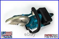 Makita Brushless 9 (blade included) Power Cutter (18 Volt) 4 batteries included