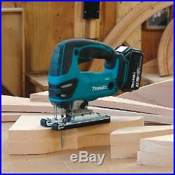 Makita DJV180Z 18v Top Handle Jigsaw LXT Lithium Ion Cordless Includes Blades