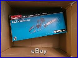 Makita XCU07Z 36v 14 Chain Saw (Bare tool, no batteries included)