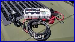 Military vehicle 24v battery charger must have! Plug and play nato plug included