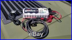 Military vehicle 24v battery charger must have nato plug included plug and play