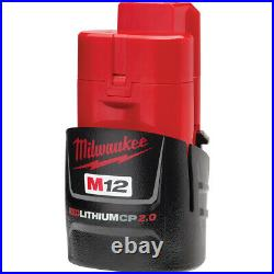 Milwaukee 2446-20 M12 Cordless Grease Gun TOOL ONLY FREE Battery Included