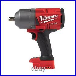 Milwaukee 2766-20 M18 FUEL High Torque ½ Impact Wrench with Pin Detent Tool O