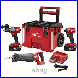 Milwaukee 2997-23SPO M18 FUEL 3-TOOL COMBO KIT WithpackOUT