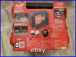 Milwaukee 3510-21 REDLITHIUM USB Rechargeable Green 3-Point Laser 150' Range