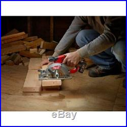 Milwaukee Cordless Circular Saw Kit 12-Volt Lithium-Ion Battery Charger Included