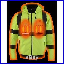 Milwaukee Leather Men's Textile Jacket With Heating Elements Battery Kit Included