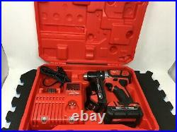 Milwaukee M18 Brushless Cordless 1/2 Compact Drill/driver Kit 2801-22ct Jd276
