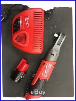 Milwaukee m12 1/2 ratchet New, Includes New Milwaukee M12 Battery And charger