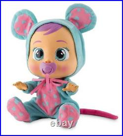 NEW Cry Babies LALA 10581 Baby Doll Girls Toy Mouse IMC TOYS Batteries Included