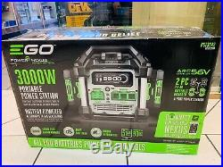 NEW Ego PST3042 56V 3000W Nexus Portable Power Station Batteries not Included