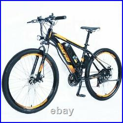 NEW Electric bike, aluminum alloy, discbrakes, 34 mile range, includes battery
