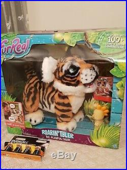 NEW FurReal Roarin Tyler The Playful Tiger (BNIB) batterys included