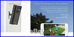 NEW! Ring Stick up Cam and Solar Panel Bundle includes 2 cams and 2 solar panels