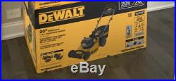 New DEWALT 2X 20V MAX Cordless Lawn Mower (batteries Not Included)