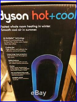 New Dyson Am04 Hot Cool Table Heater Fan Cooler Blue Color Or White