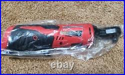 New Milwaukee M12 Cordless 3/8 Ratchet, 2457-20 INCLUDES M12 Battery