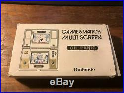 Nintendo Game & Watch Game IN BOX OIL PANIC INCLUDES 2 NEW BATTERIES