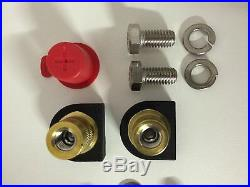 Odyssey PC680 Battery Bracket Kit Includes Battery and Brass SAE Terminals