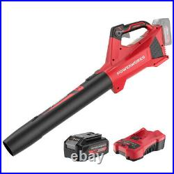 POWERWORKS 40V Cordless Handheld Blower 2.0Ah Li-ion Battery & Charger Included