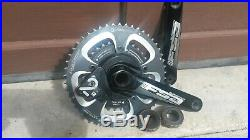 Power 2 Max withFSA 170 crankset withPraxis 50/34 chainrings. Includes new batteries