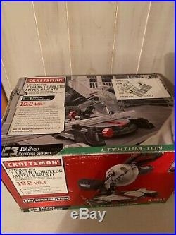 RARE Craftsman 19.2v Miter Saw Rare, Brand New, Battery And charger Included