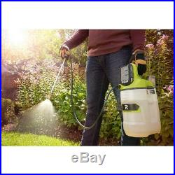 RYOBI Chemical Sprayer 2 Gal. Tank 18-Volt Lithium-Ion Battery Charger Included