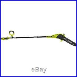 RYOBI Cordless Pole Saw 40-Volt Lithium-Ion 2.0 Ah Battery Charger Included