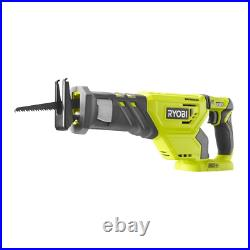 RYOBI Drill Driver Combo Kit 18V Lithium-Ion Battery Charger Included (5-Tool)