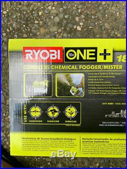 RYOBI ONE+ 18 Volt Cordless Lithium-Ion Fogger Includes Battery & Charger New