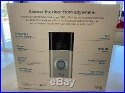 Ring Video Doorbell 2 Wired or Battery Two Faceplates Included