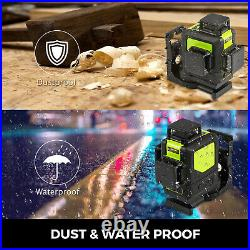 Rotary laser level green 12 Lines 3D Cross Line Laser Self Leveling Measure Tool