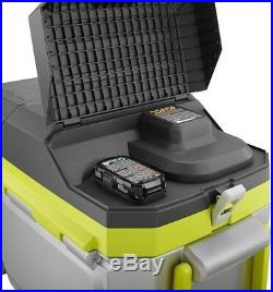 Ryobi Chest Cooler 18-V ONE+ 50 Qt. Portable Wheels Battery Charger Included