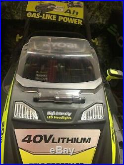 Ryobi Lawn Mower 20 In 40 Volt Cordless Self-propelled, Battery Not Included