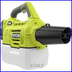 Ryobi One Fogger Mister Cordless 18V Lithium-Ion Battery and Charger Included