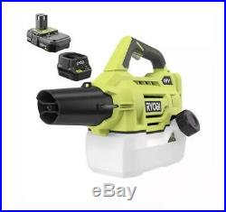 SHIPS FAST RYOBI ONE+ 18-Volt Cordless Fogger/Mister Battery&Charger Included
