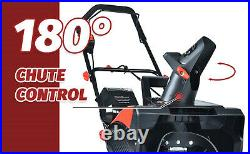 SNOW BLOWER Shovel Thrower 18 Electric Cordless 40V Battery Charger Included