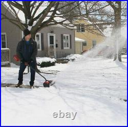 SNOW SHOVEL BLOWER Electric Cordless 60V Battery and Charger Not Included 12