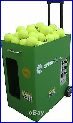 SPINSHOT-PRO TENNIS BALL Throwing MACHINE / Batteries Included
