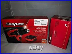 Snap-On 18v MonsterLithium Cordless Compact Drill Including Battery & Charger