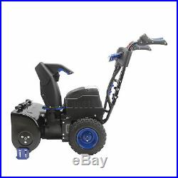 Snow Joe Cordless Two Stage Snow Blower 24-Inch 4-Speed Batteries Included