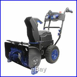 Snow Joe Cordless Two Stage Snow Blower 24-Inch 80V Battery Not Included
