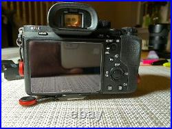 Sony Alpha a7R II Body Only, with 6 batteriesinclude charger and a new strap