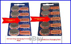 Sony CR2032 3V Lithium Coin Cell Battery (1000 Batteries) Tracking Included