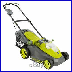 Sun Joe Cordless Lawn Mower 16 inch Brushless Motor Battery Not Included